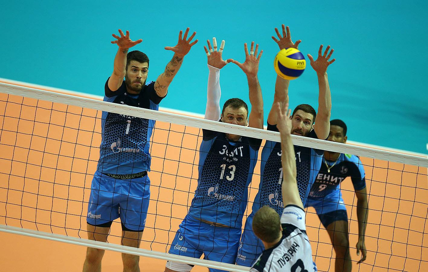 News 12 13 May Sees The Final Four Of The Volleyball Champions League 2018 Zenit Kazan Play At Home Errea