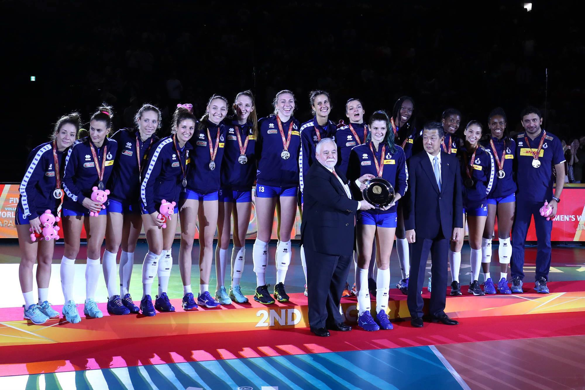 2018 Volleyball Women's World Championship: a silver medal for Italy!!!
