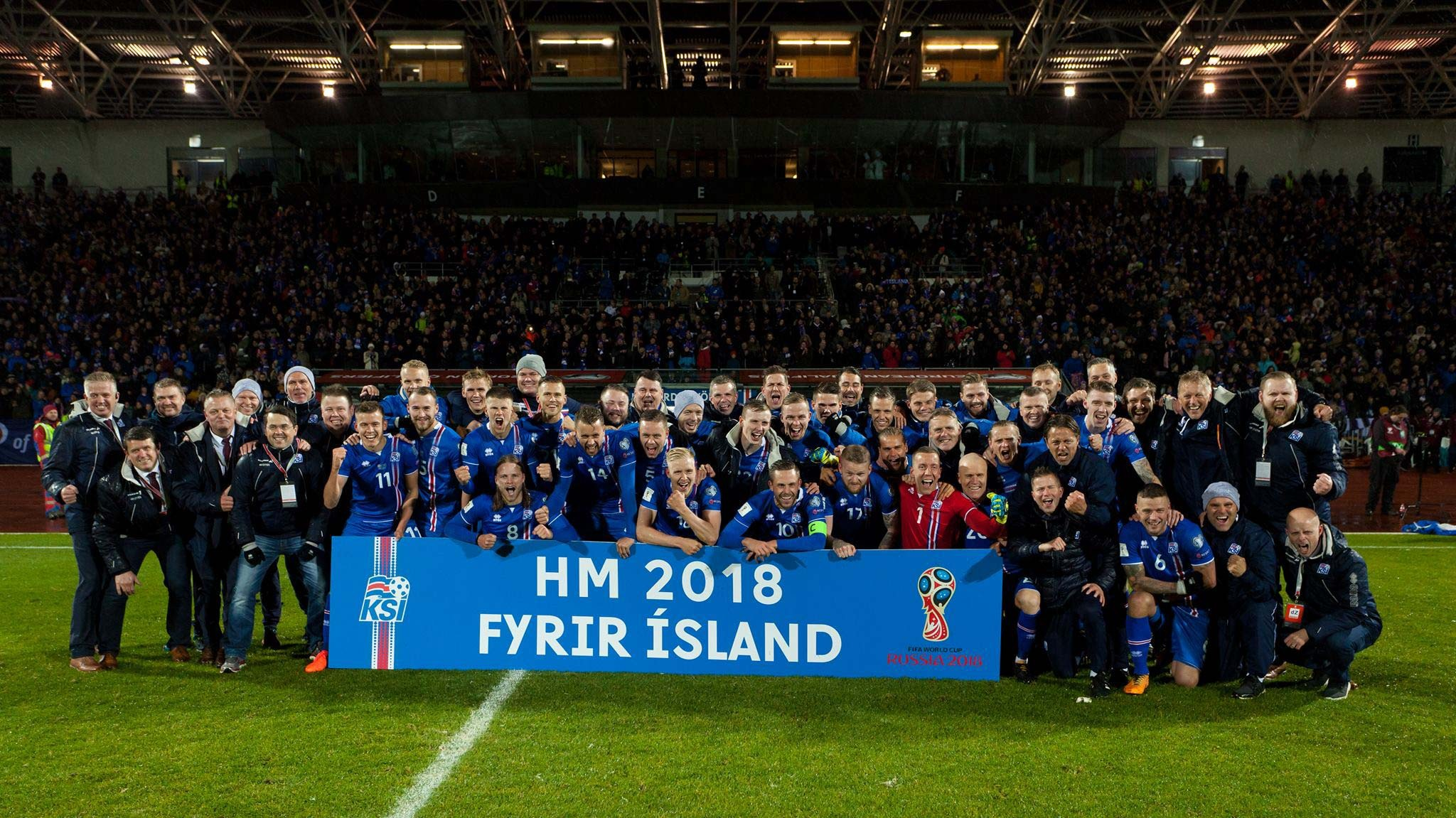 A brilliant Iceland qualifies for the 2018 World Cup in Russia!!!