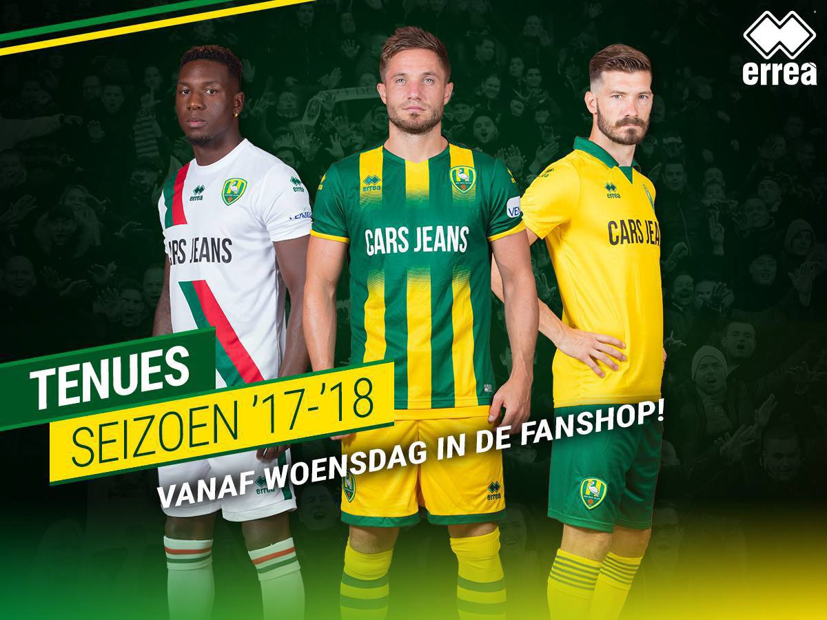Ado Den Haag introduces its three Erreà kits for the forthcoming season!