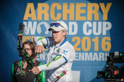 Archery: Marcella Tonioli winner of the 2016 World Cup!