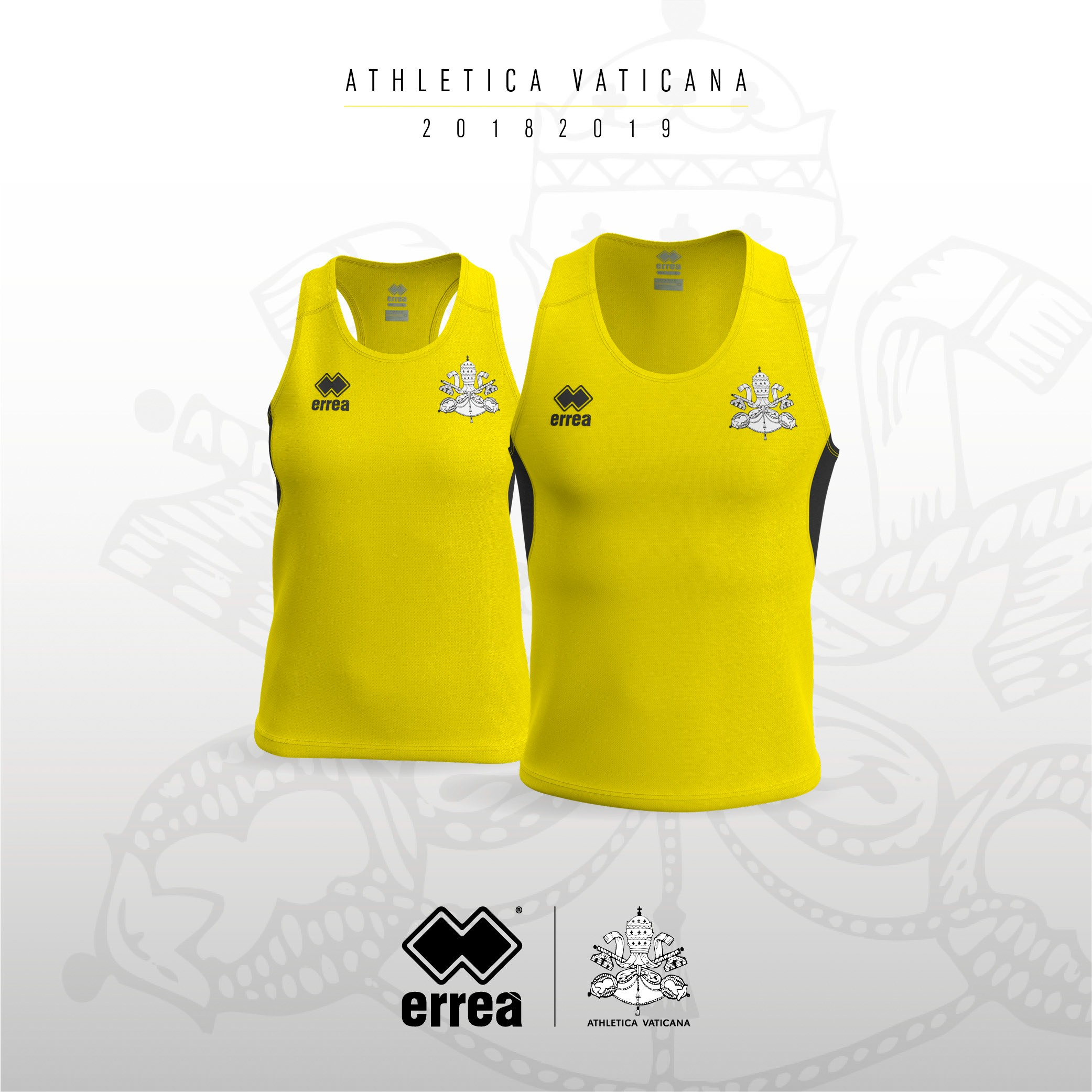 Athletica Vaticana with Erreà Sport for a sport that's both ethical and clean