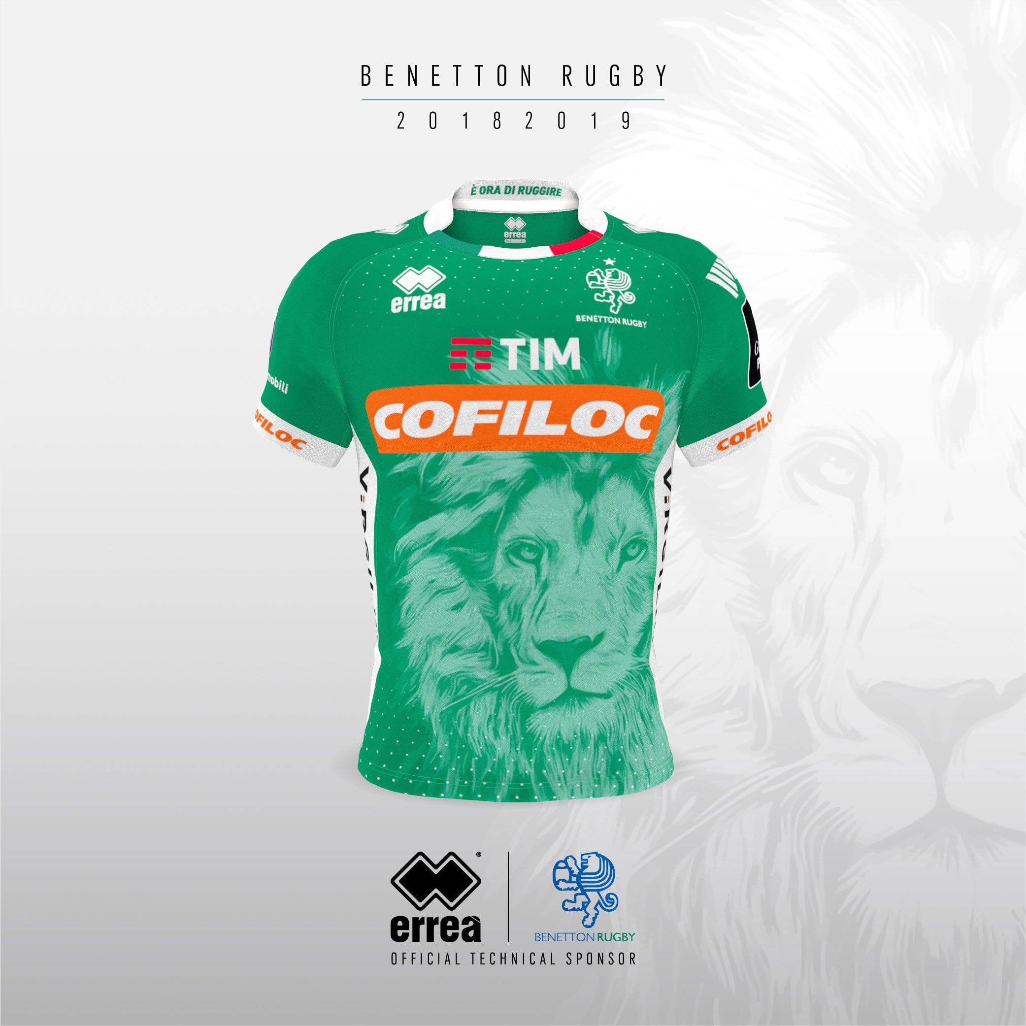 Erreà and Benetton Rugby unveil the new official kits for the forthcoming Guinness Pro 14 season