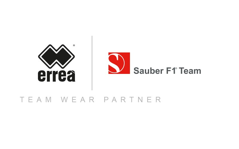 Erreà Sport becomes official partner of the Sauber F1 Team