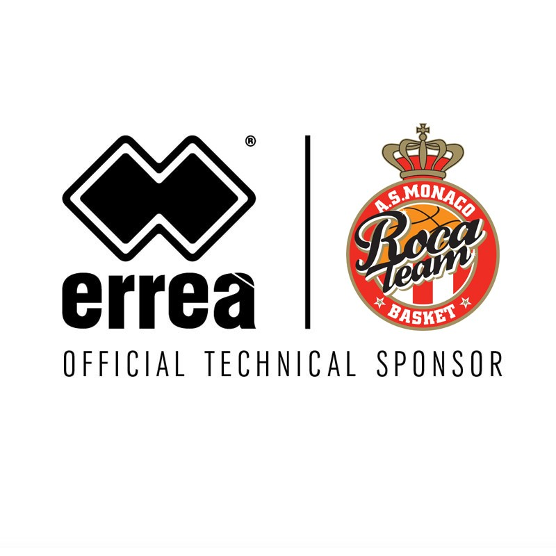 Erreà Sport is the new official technical sponsor for AS Monaco Basket!