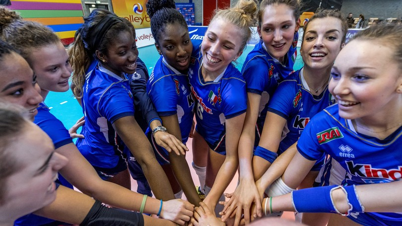 European Under-18 Volleyball Championship: Italy beats Bulgaria and goes to the semifinals!