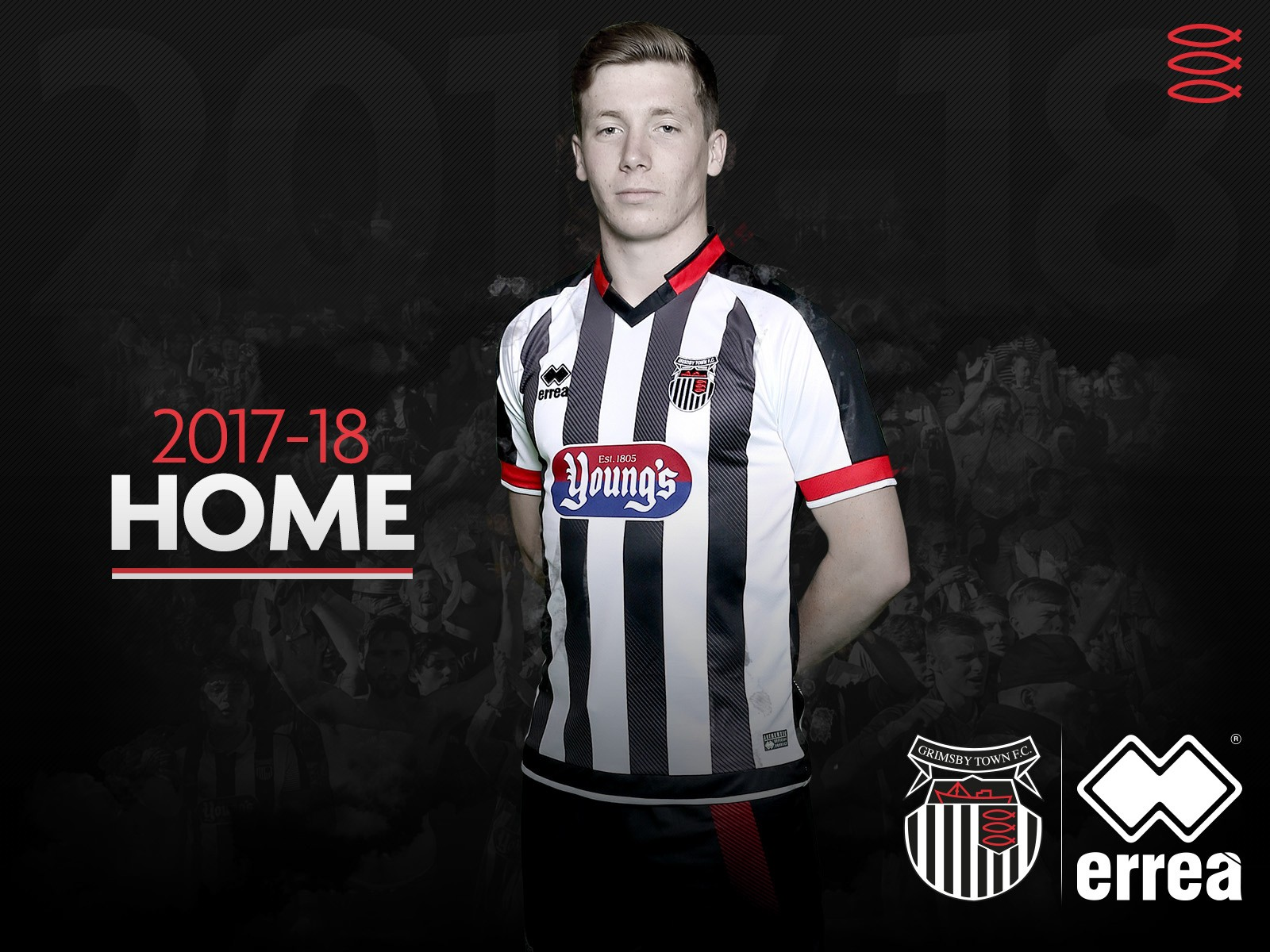 Grimsby Town FC unveils its new home and away kits for the 2017-2018 season!
