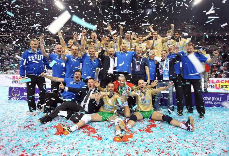 Men's Champions League Zenit Kazan are Champions of Europe!