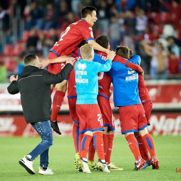 Numancia take on Zaragoza in the play-offs for promotion to La Liga!