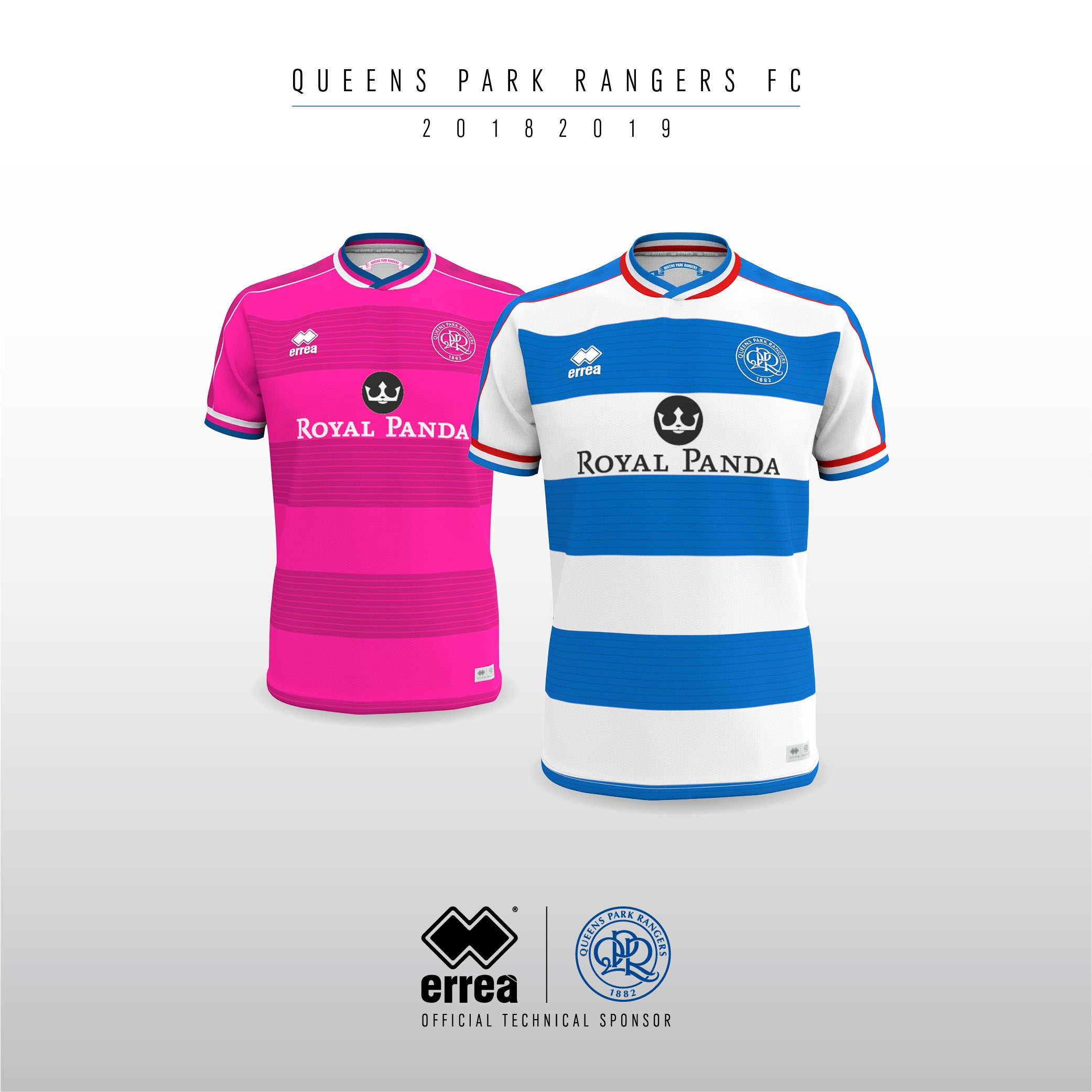 Queens Park Rangers FC unveil their new official 2018-2019 kits from Erreà Sport