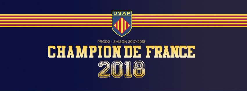 Rugby Perpignan win the championship and return to the Top 14!!!!