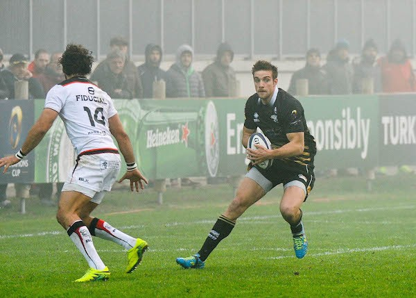 Stade Toulousain win the derby against Zebre in the third round of the European Champions Cup