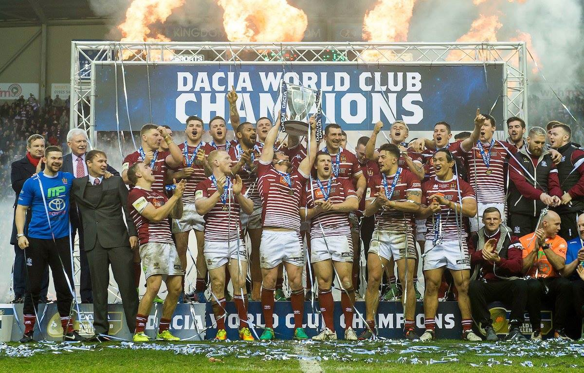Wigan Warriors grab their fourth World Club Champions title!!!
