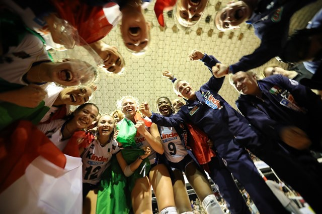 Women's U18 World Volleyball Championships: the Italian team are World Champions!