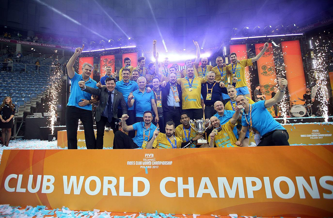 Zenit Kazan are on top of the world, winning the Club World Championship for the very first time!
