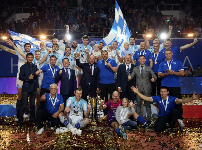 Zenit Kazan win the Russian Super Cup!