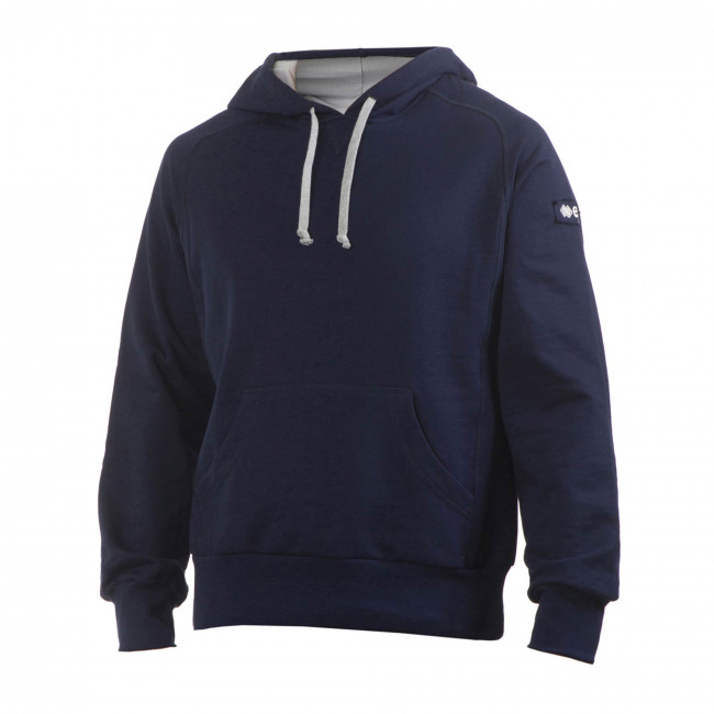 BERLIN FLEECE HOODED JR BLU - ERREÀ