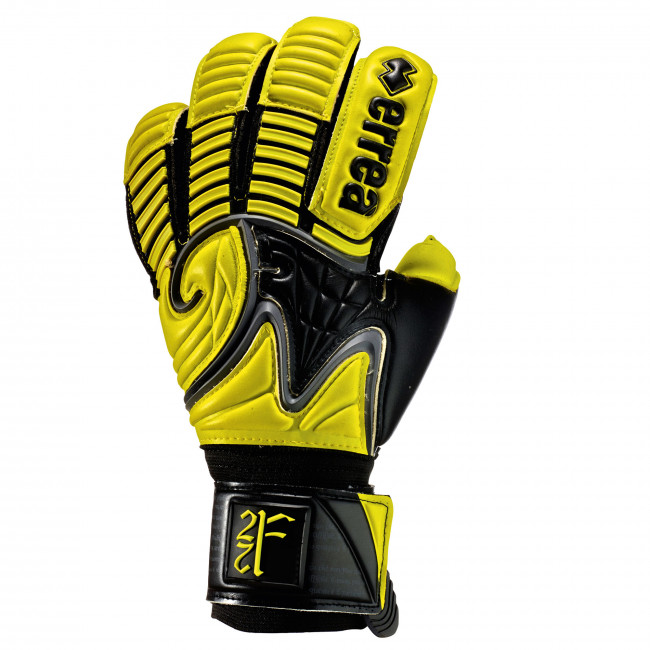 FM 22 GLOVES AD NERO LIME - ERREÀ