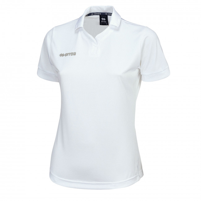 AYER WOMAN POLO SS JR BIANCO - ERREÀ
