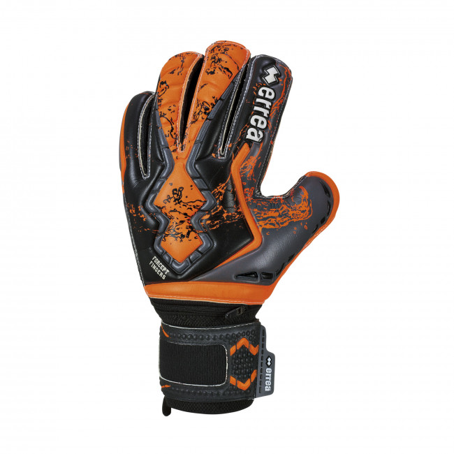 FORCEPT FINGERS GLOVES AD NERO ARANCIO_FLUO ANTRACITE - ERREÀ
