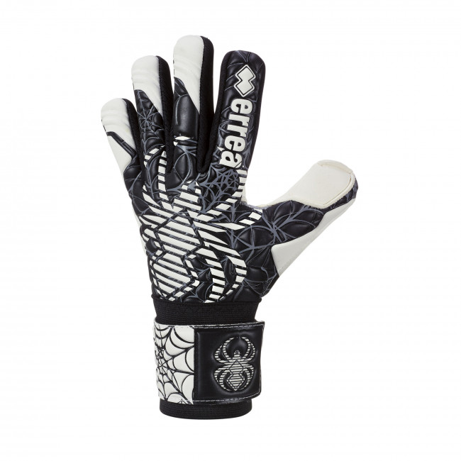 BLACK SPYDER CELEBRATION GLOVES JR NERO BIANCO - ERREÀ