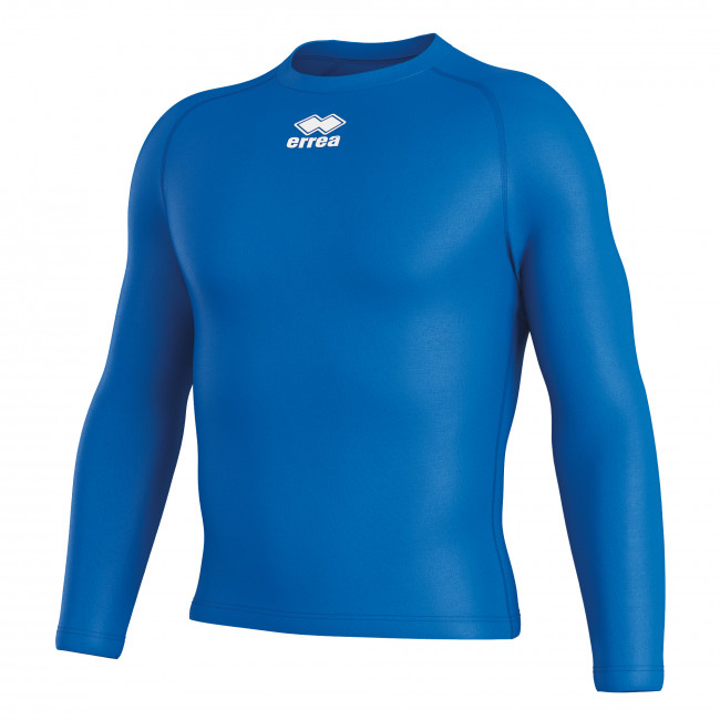 DARIS - LONG-SLEEVED TECHNICAL UNDERWEAR SHIRT JR AZZURRO - ERREÀ