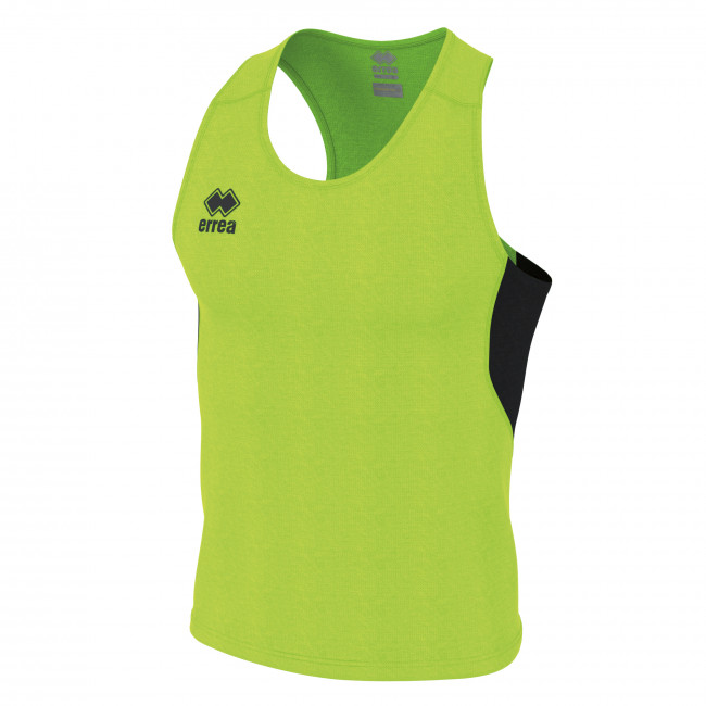SMITH SINGLET MAN JR VERDE_FLUO NERO - ERREÀ