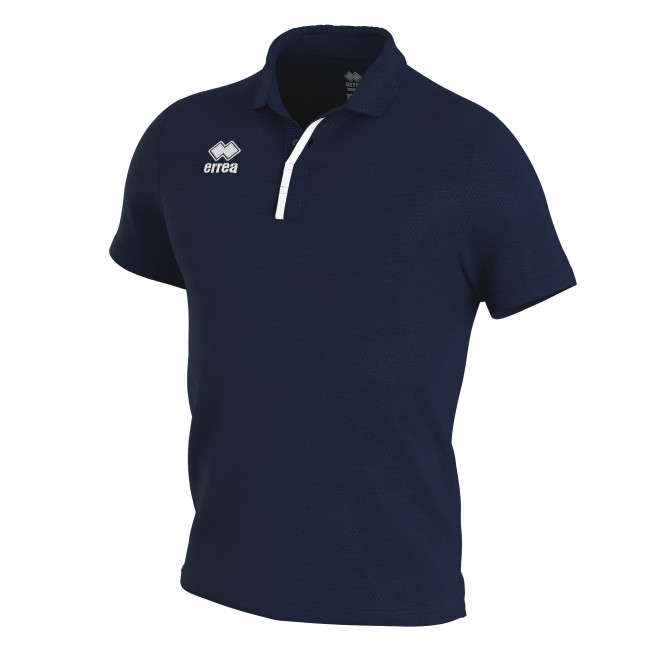 PRAGA 3.0 - MEN'S  POLO SHIRT JR BLU BIANCO - ERREÀ