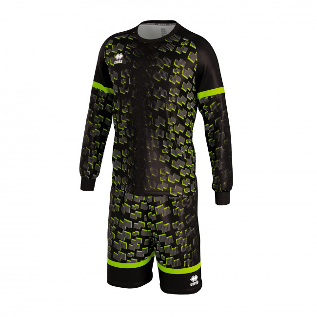 TABORA - GOALKEEPER KIT JR NERO VERDE_FLUO - ERREÀ