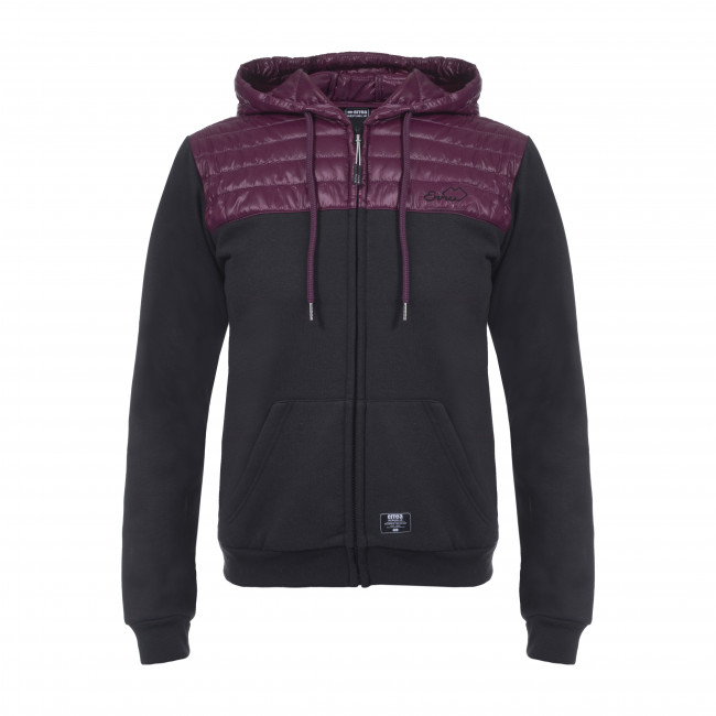 JOKO LADIES JACKET AD NERO DEEP_CRANBERRY - REPUBLIC