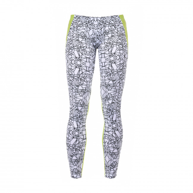 SPORT FUSION SS17 PRINTED LEGGINGS W AD BIANCO APPLE_GREEN - REPUBLIC
