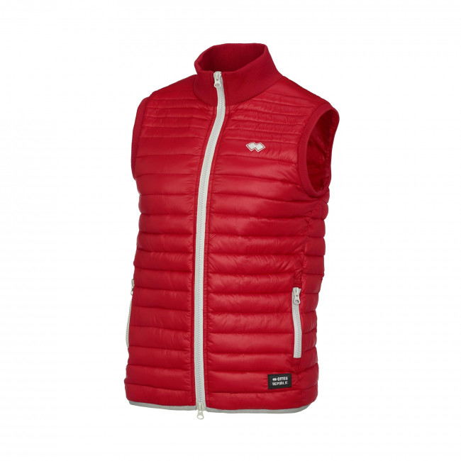 HYBRID FW17/18 MAN QUILTED GILET AD ROSSO - REPUBLIC