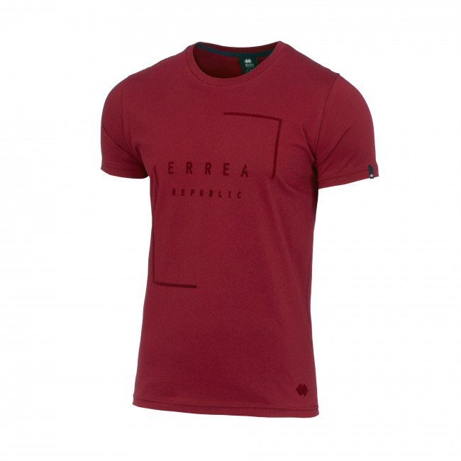 CONTEMPORARY FW17/18 MAN T-SHIRT SS AD BORDEAUX_19-1531 - REPUBLIC