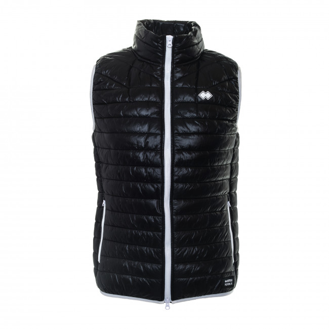TREND SS18 MAN QUILTED GILET AD NERO - REPUBLIC