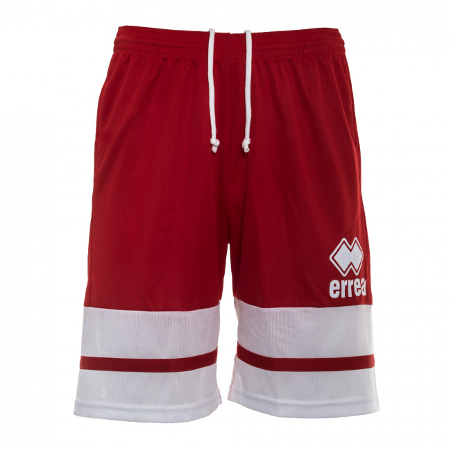 ESSENTIAL SS18 MAN BASKET SHORTS AD ROSSO BIANCO - REPUBLIC