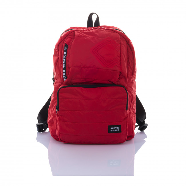 ESSENTIAL FW18/19 BACKPACK AD ROSSO - REPUBLIC
