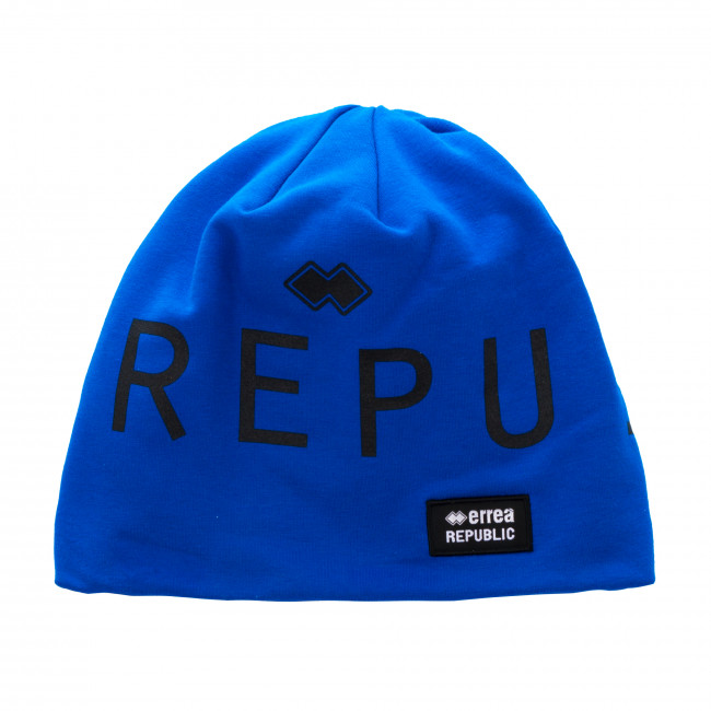 ESSENTIAL FW18/19 REPUBLIC LONG BEANIE AD AZZURRO - REPUBLIC