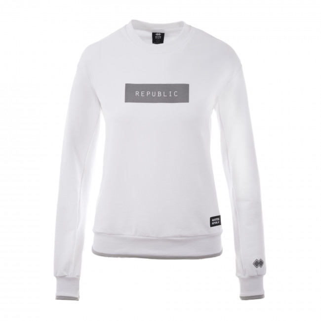 CONTEMPORARY FW18/19 WOMAN ROUND NECK SWEAT JR BIA - REPUBLIC