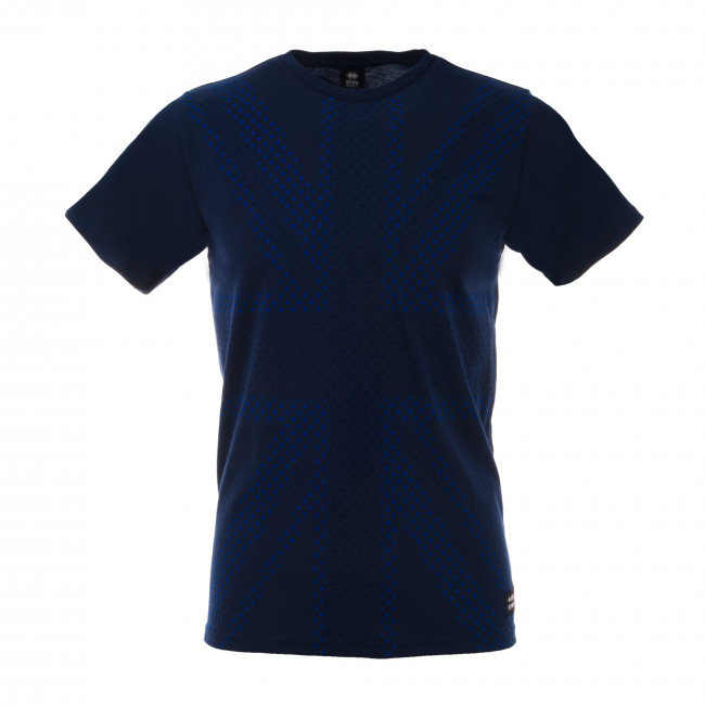 ESSENTIAL FW18/19 MAN UK FLAG T-SHIRT SS JR BLU - REPUBLIC