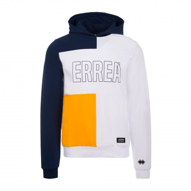 TREND SS19 MAN COLOUR BLOCK SWEATSHIRT AD BLU BIA AMB - REPUBLIC