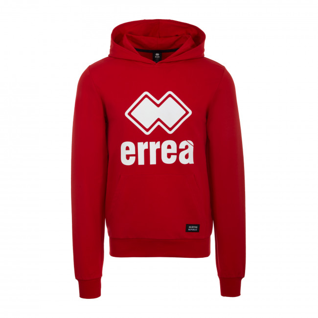 ESSENTIAL SS19 MAN BIG LOGO FLEECE AD ROSSO - REPUBLIC