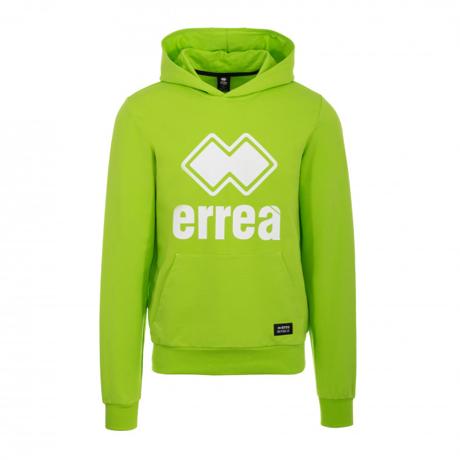 ESSENTIAL SS19 MAN BIG LOGO FLEECE JR VERDE_FLUO - REPUBLIC