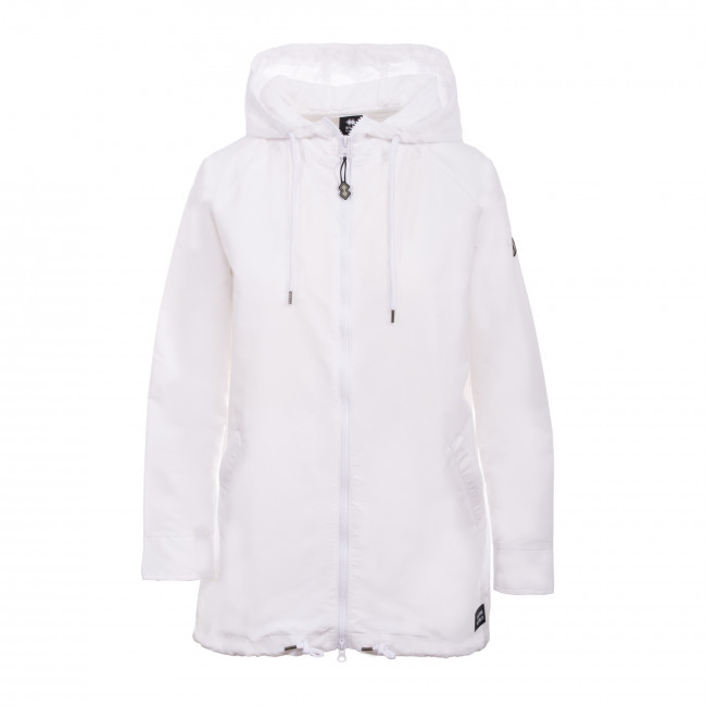 TREND SS19 WOMAN PARKA JR BIANCO - REPUBLIC