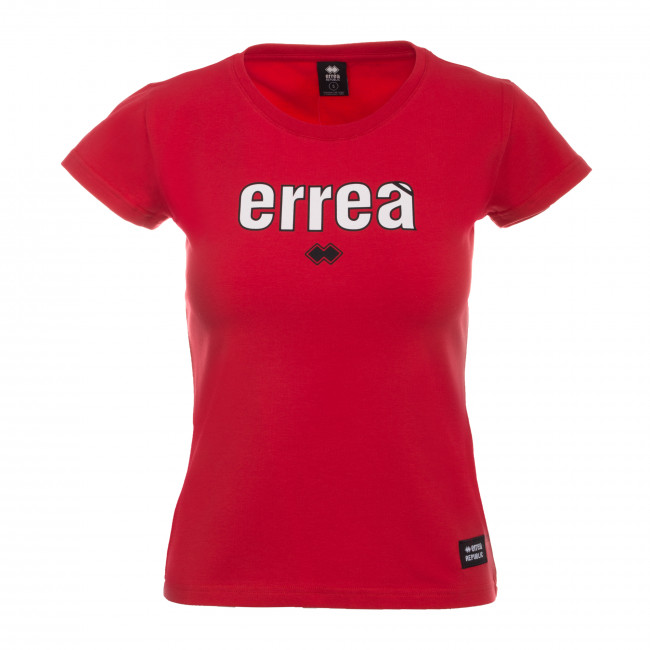 ESSENTIAL SS19 WOMAN ERREA' T-SHIRT MC JR ROSSO - REPUBLIC