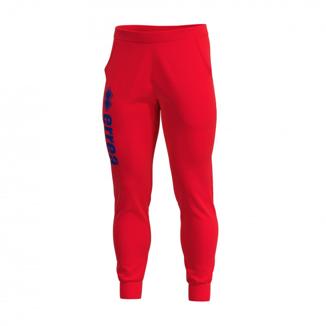ESSENTIAL SS19 MAN CUFFED MONO TROUSERS AD ROSSO - REPUBLIC