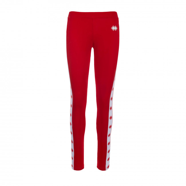 ESSENTIAL SS19 WOMAN LEGGINGS 3 JR ROSSO - REPUBLIC