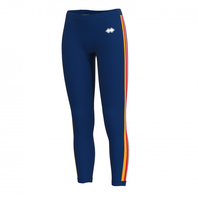 TREND SS19 WOMAN LEGGINGS AD BLU - REPUBLIC