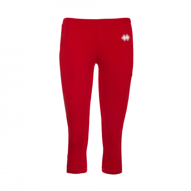 ESSENTIAL SS19 WOMAN 3/4 LEGGINGS JR ROSSO - REPUBLIC