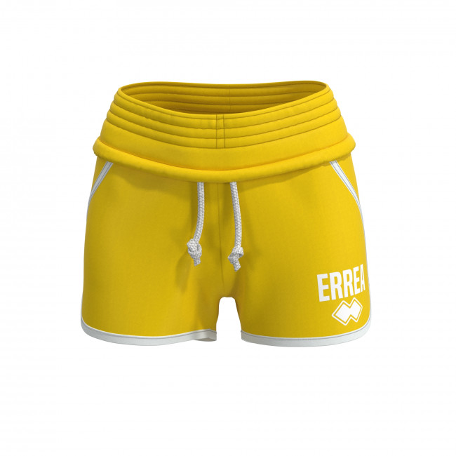 ESSENTIAL SS19 WOMAN SHORTS AD GIALLO - REPUBLIC
