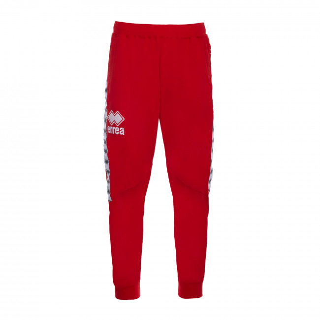 ESSENTIAL SS19 MAN BANDA TROUSERS AD ROSSO - REPUBLIC